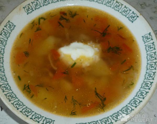 Суп из соленых грибов рецепт с фото