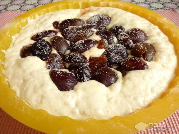 Пирог постный дрожжевой с вареньем рецепт