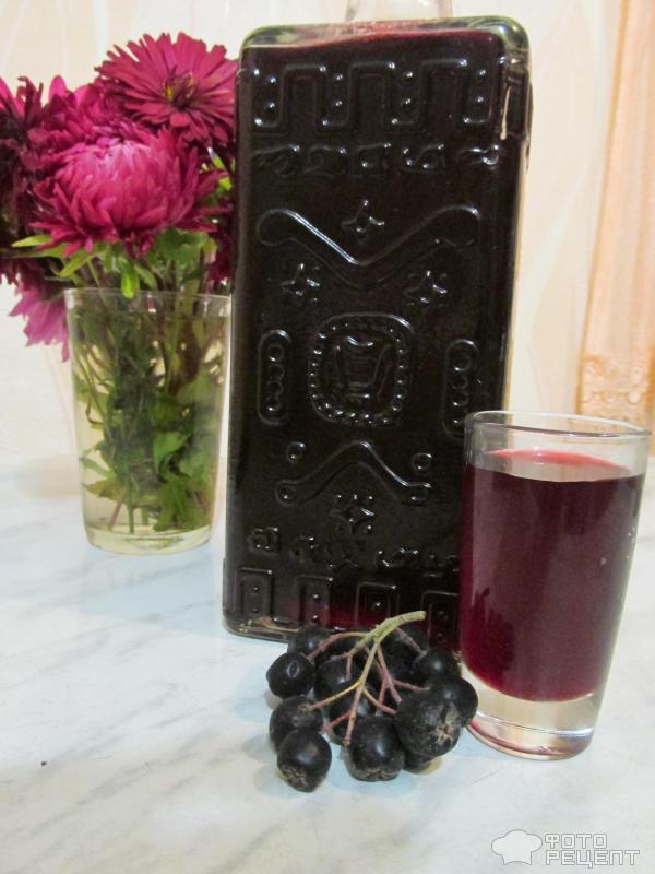 вино из черноплодной рябины