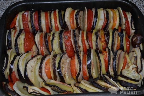 Рататуй рецепт с пошагово в духовке с картошкой