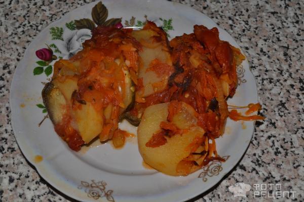 Рататуй рецепт с картошкой