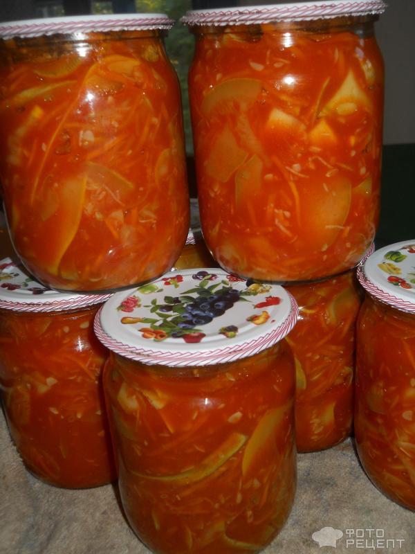 Рецепты с фото из кабачков на зиму пошагово