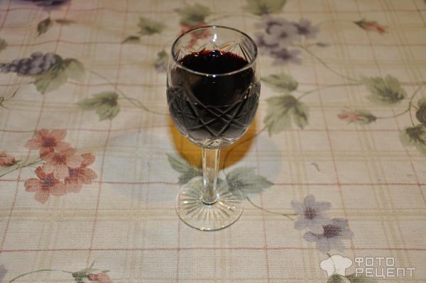 Домашнее вино из черноплодной рябины фото