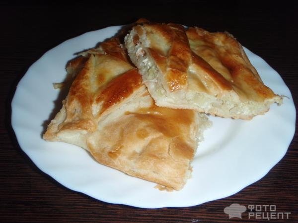 Рецепт пирога с салом с фото