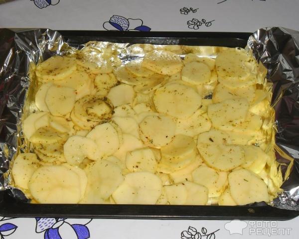 Картошка на противне в фольге рецепт