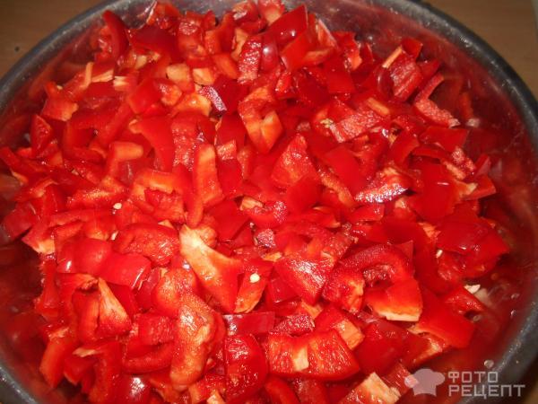 Болгарский перец в томатной пастеы на зиму