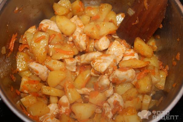 Куриное филе с картошкой в молоке в духовке рецепт