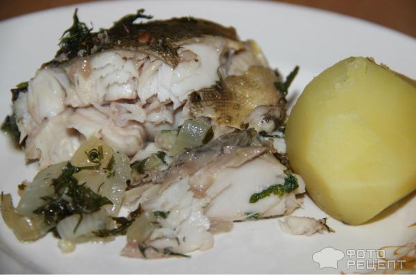Терпуг в духовке с овощами рецепт