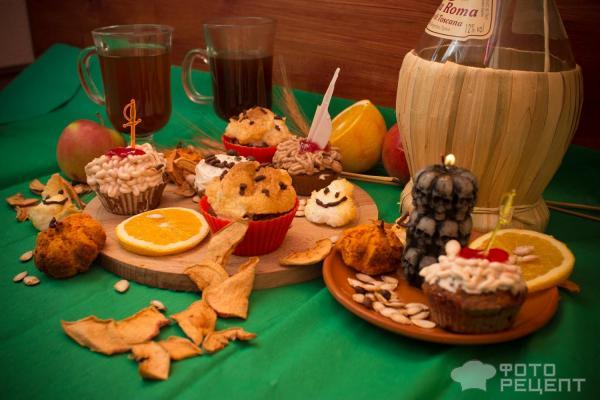 Страшные сладости на Хэллоуин фото