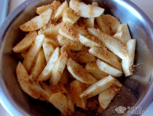 Хрустящие картофельные дольки Простая вкуснятина фото