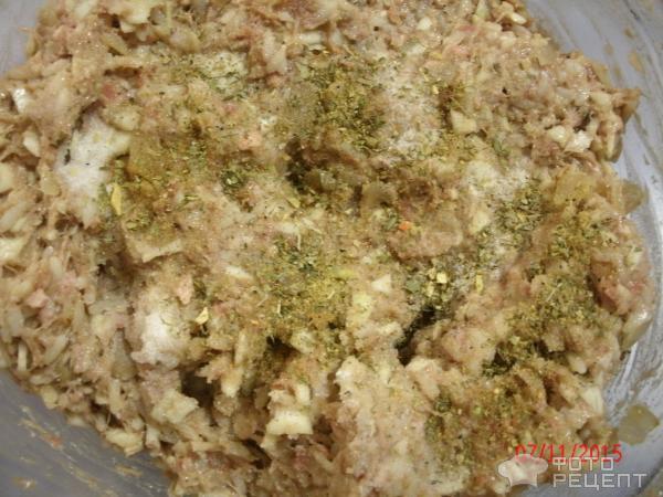 ежики с капустой рецепт с фото