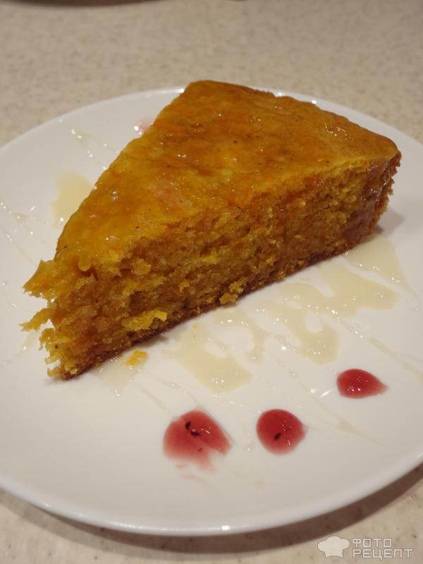 морковный пирог рецепт в мультиварке с фото пошагово