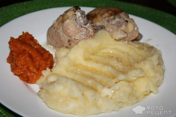 Курица тушеная в сливках в мультиварке рецепт с фото