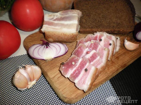 Рецепты мариновки сала для копчения