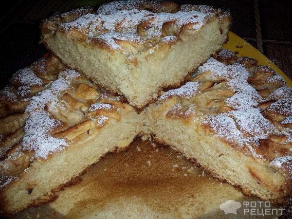Немецкий яблочный пирог рецепт с фото