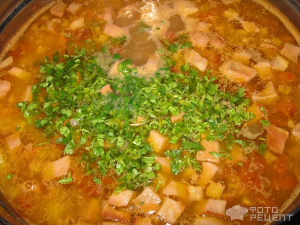 солянка с колбасой и картошкой рецепт с фото