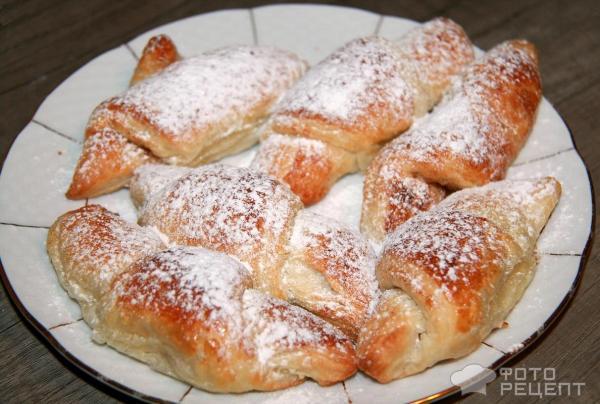 Фото рецепт рогалики с корицей рецепт с пошагово
