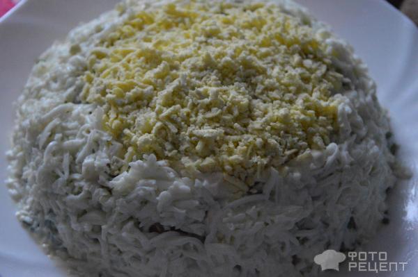 Салат грибная полянка с маслятами рецепт