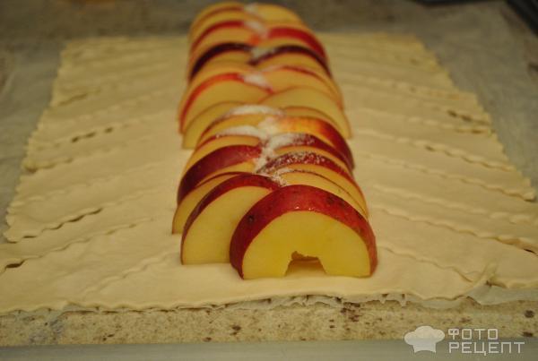Яблочный рулет рецепт пошагово в духовке