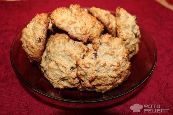 Овсяное печенье домашнее рецепт фото