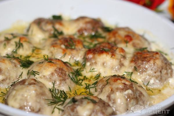 Куриные шарики в сливочном соусе пошаговый рецепт 127