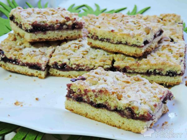 Рецепт вкусного пирога с вареньем с для мультиварки