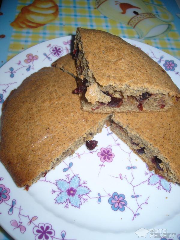 Пирог с клюквой рецепт в мультиварке