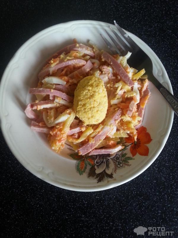 Орлиное гнездо салат рецепт с