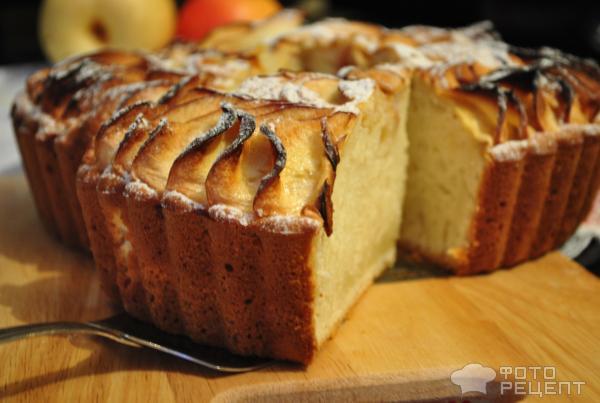 Пирог на простокваше с вареньем рецепт с