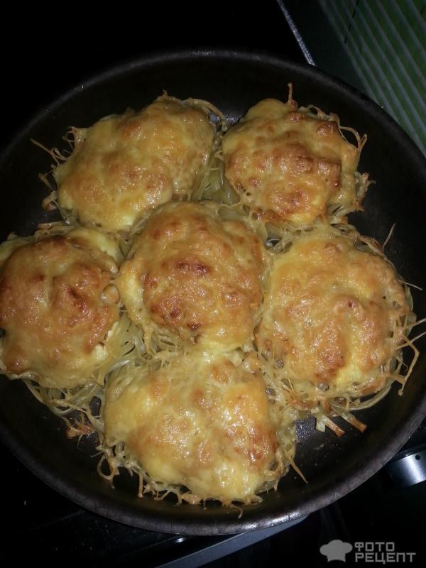 Рецепт куриные гнезда фото