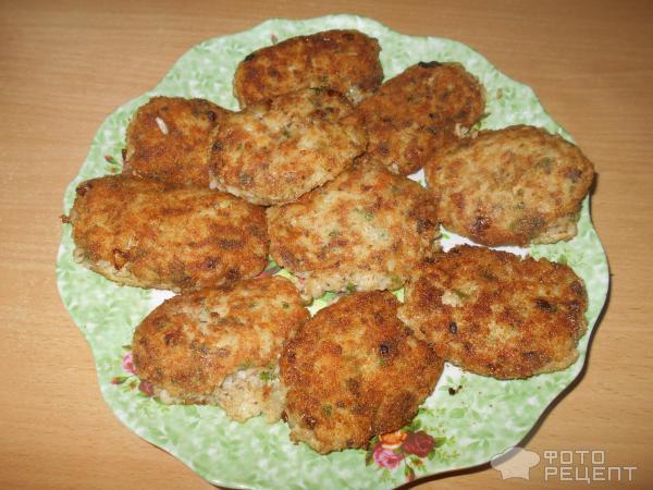 Рыбные котлеты из сайры рецепт с фото