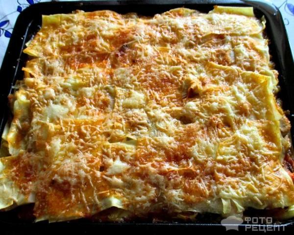 Рецепты лазаньи с томатным соусом с пошаговым