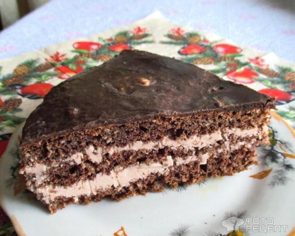 Рецепт торта со сливочным кремом
