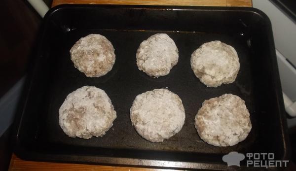 Котлеты в духовке с фото со сливками