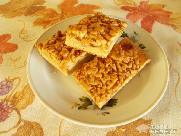 Пирог кучерявый с вареньем рецепт