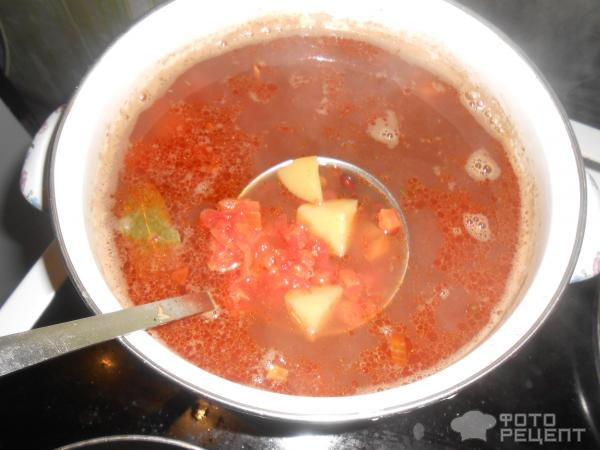 Рецепт борщ украинский рецепт с пошагово в
