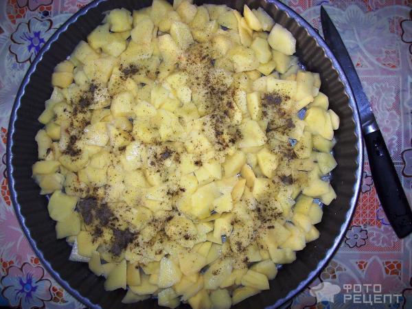 Рецепт фарш с картошкой и с сыром