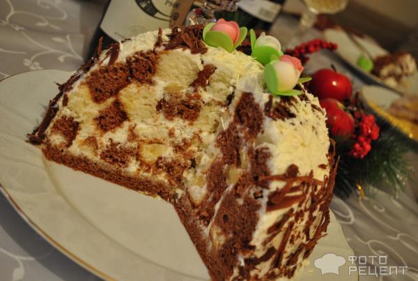 Торт панчо рецепт с фото из готовых коржей как складывать