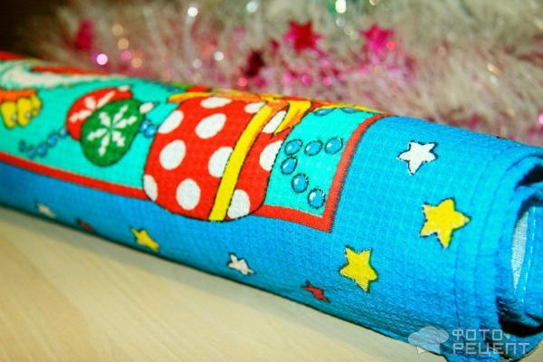 Шоколадный рулет Рождественское полено фото