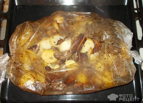 Бараньи ребрышки в рукаве духовке рецепт