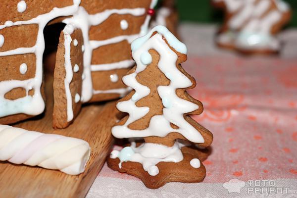 Рождественский пряничный домик фото