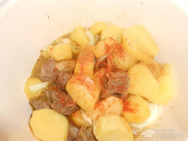 рецепт жареных желудков куриных пошагово с фото