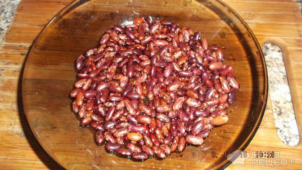 Рецепт индейки с фасолью