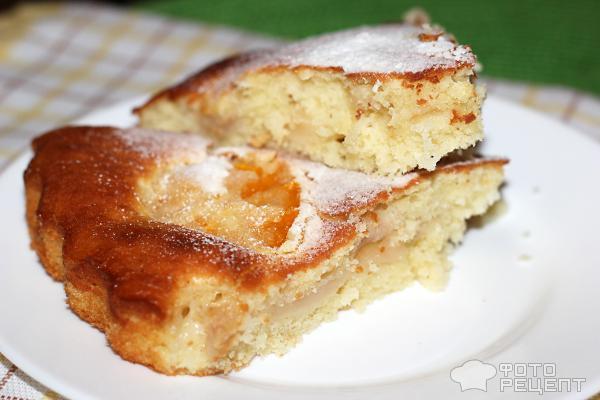 Яблочный пирог на дрожжах рецепт