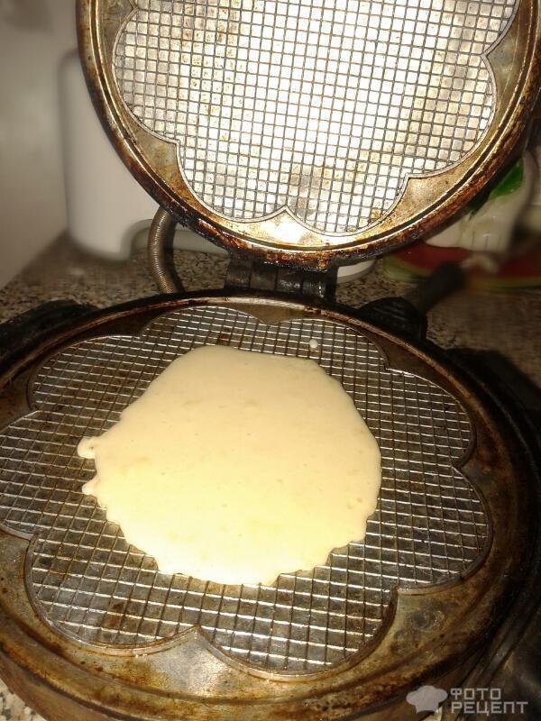 Рецепт вафельных трубочек в домашних условиях