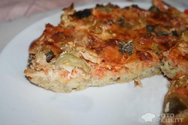 Рецепт картофельной пиццы в духовке