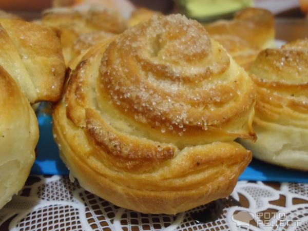 Рецепт сдобных булочек в духовке с фото