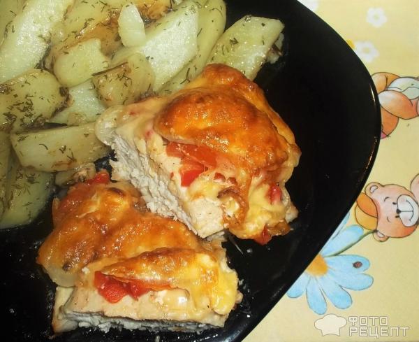 Куриная грудка под шубой в духовке рецепт пошагово
