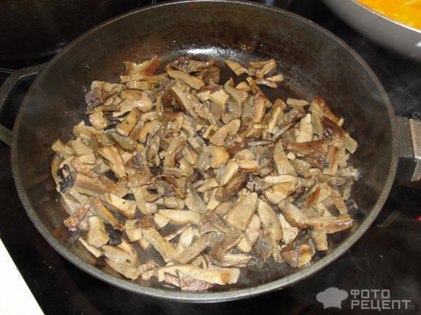 Мясо с грибами сушеными рецепт