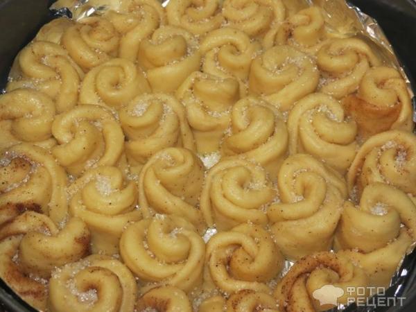 Пирог букет роз рецепт с фото